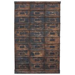 20th Century Grand Strafor Metal Cabinet Case