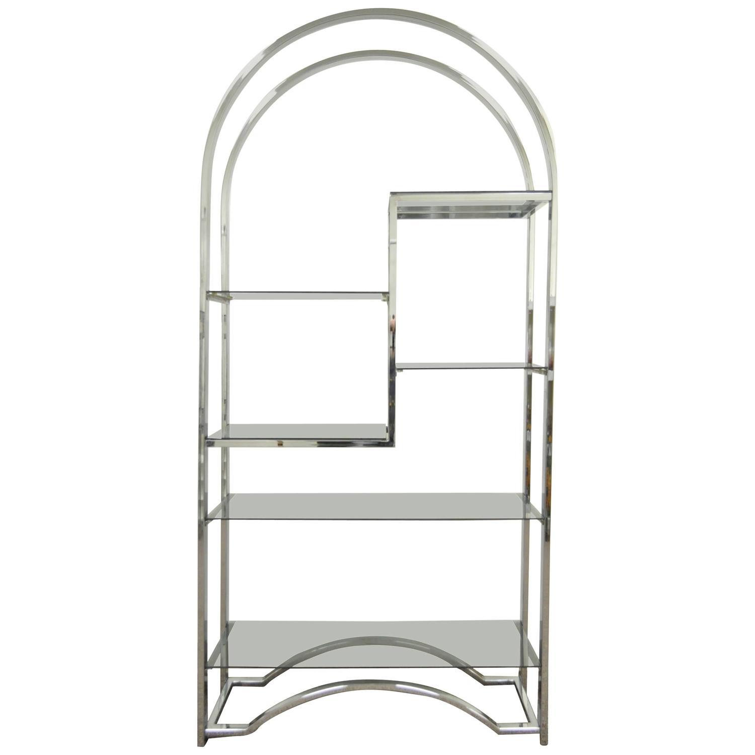Chrome And Glass Shelving Unit Finest Click To Zoom With Chrome And Glass Shelving Unit Best
