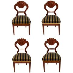 Set of Four Biedermeier Chairs
