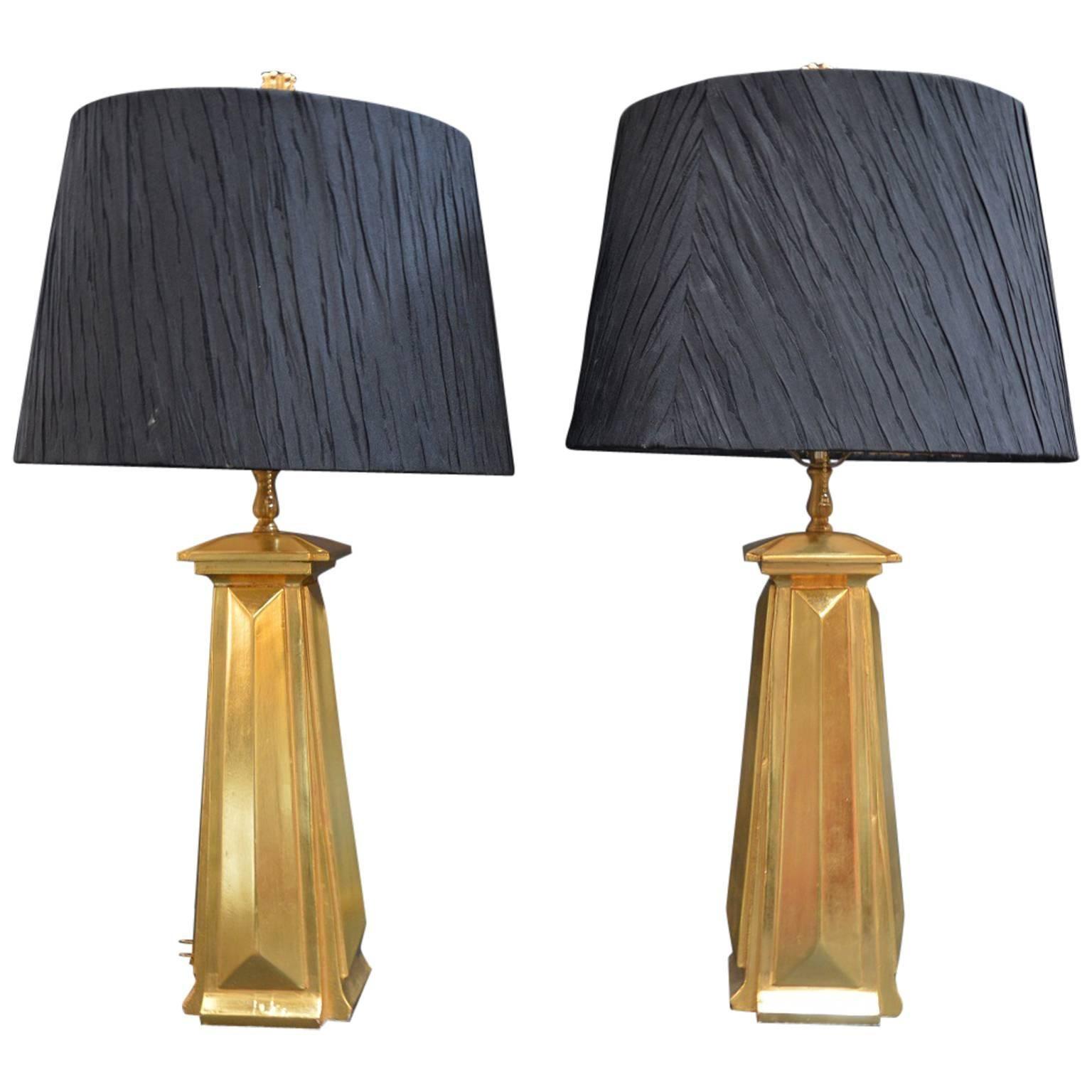 Pair of Bryan Cox Table Lamps