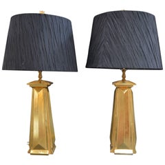 Pair of Bryan Cox Table Lamps