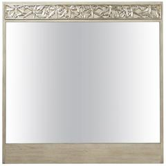 Bamboo Carved Mirror by James Mont