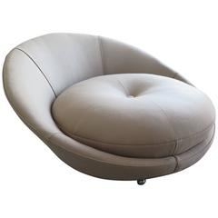 Large Round Lounge Chair by Milo Baughman