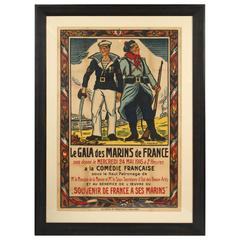 Antique French Propaganda Poster