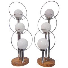 Pair of Mid-Century Modern Table Lamps