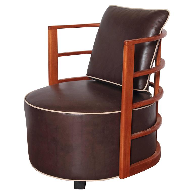 Iconic Art Deco Machine Age Gilbert Rohde Herman Miller Bentwood Chair No. 3451