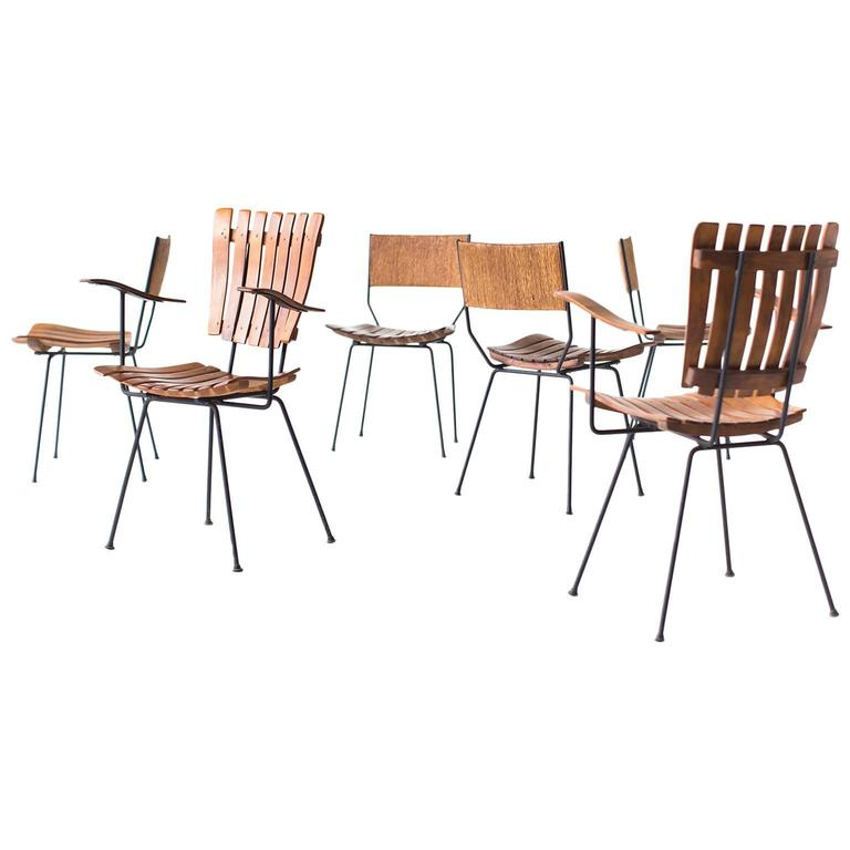 Arthur Umanoff Dining Chairs For Raymor For Sale At 1stdibs