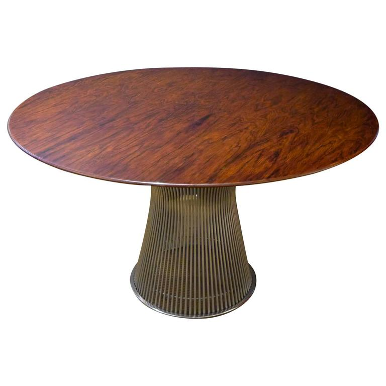 Warren platner dining table in custom size at 1stdibs for Table warren platner