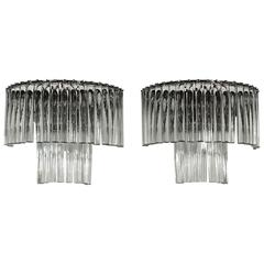 Pair of italian wall lights from the 1960´s