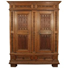 16th Century French Gothic Armoire
