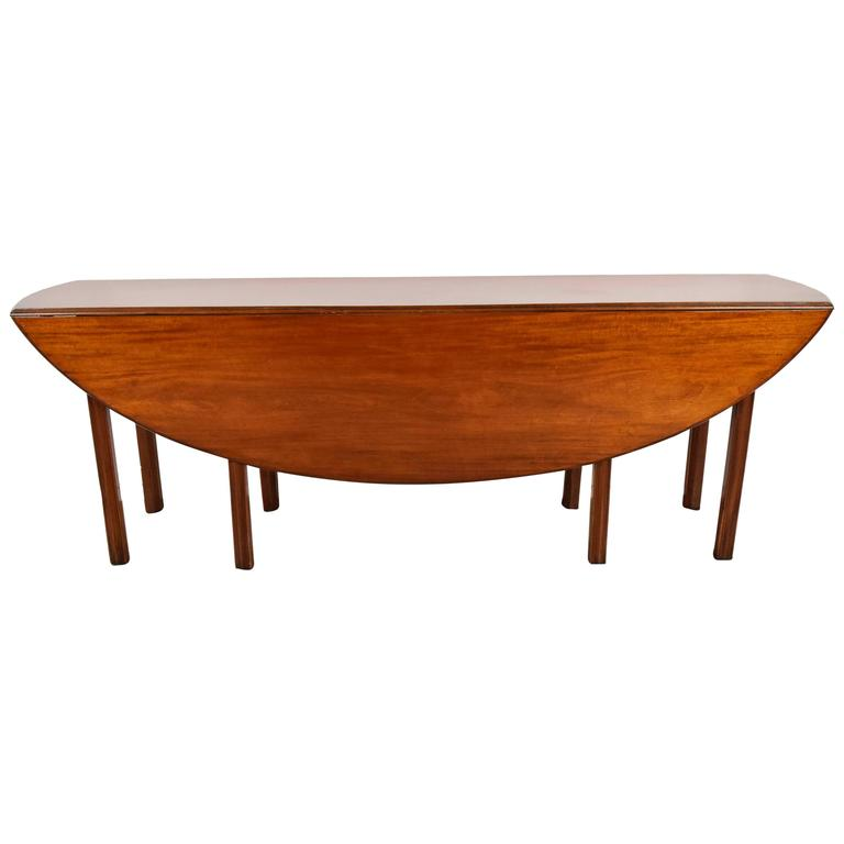 George III-Style Wake or Hunt Dining Table