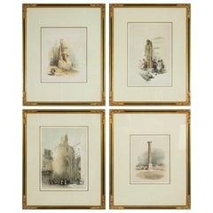 Set of Four David Roberts Lithographs