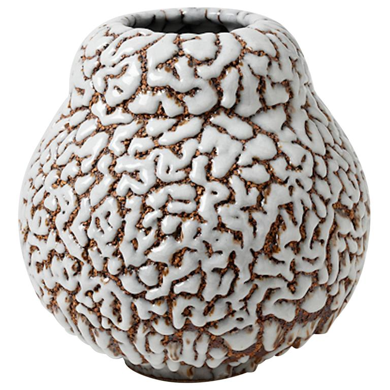 Contemporary Ceramic Vase by Rozenn Bigot
