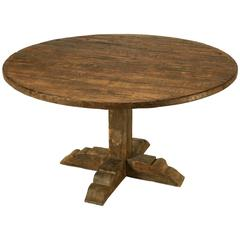 Italian Round Dining Table