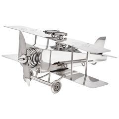 Large & Rare Bi-Plane Desk Companion by F. Reichenberg, Germany, circa 1920-1925