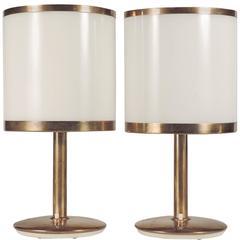 Splendid Pair of Arredoluce Table Lamps