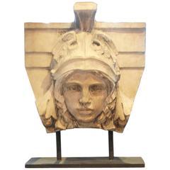 Late 18th Century Mask of Mercury