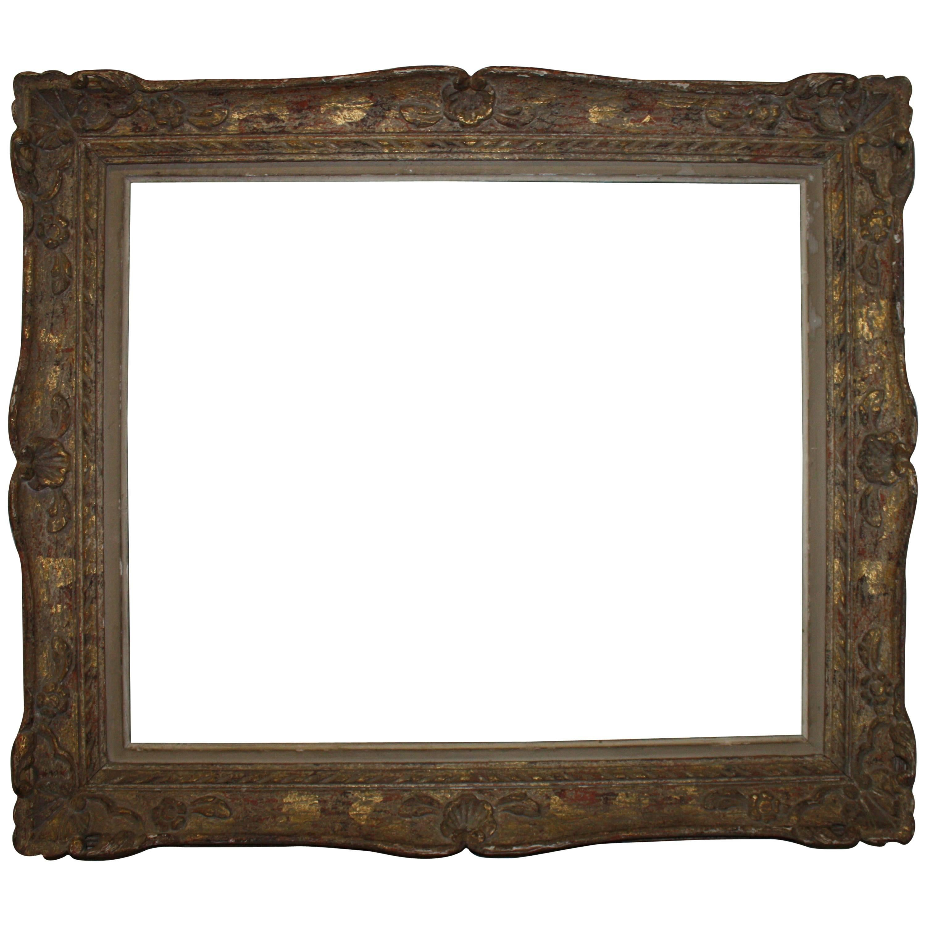 Museum quality 19th century hand carved and gilded frame for sale museum quality 19th century hand carved and gilded frame for sale at 1stdibs jeuxipadfo Images