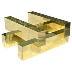 Cityscape Coffee Table by. Paul Evans