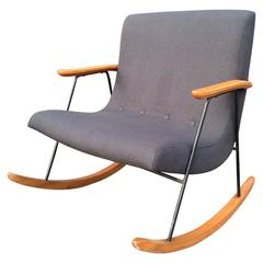 "Milo Baughman ""Ozzy"" Rocking Chair"