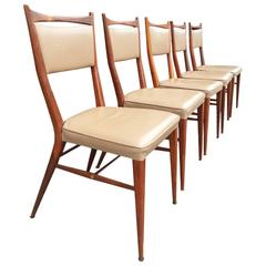 Set of Six Paul McCobb Connoisseur Dining Chairs for H. Sacks & Sons