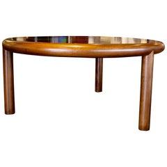 Rare Tonelli and Broggi, Italian Mid-Century Three-Legged Dining Table