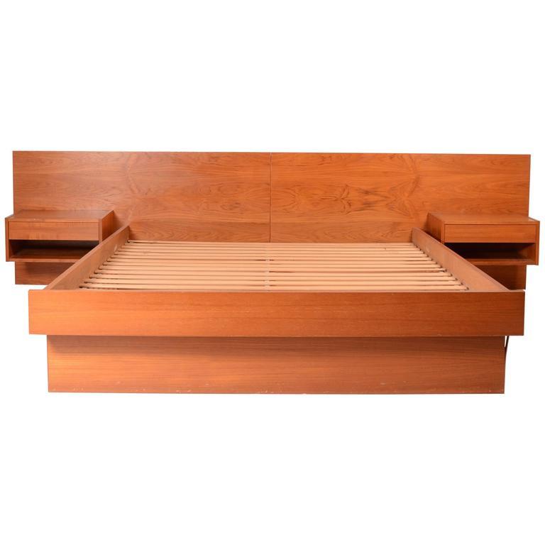 Platform Bed For Sale Danish Modern Queen Size Platform