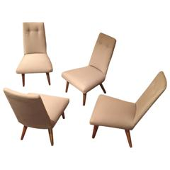 Four Adrian Pearsall Conversational Chairs Model 1548 C for Craft Associates