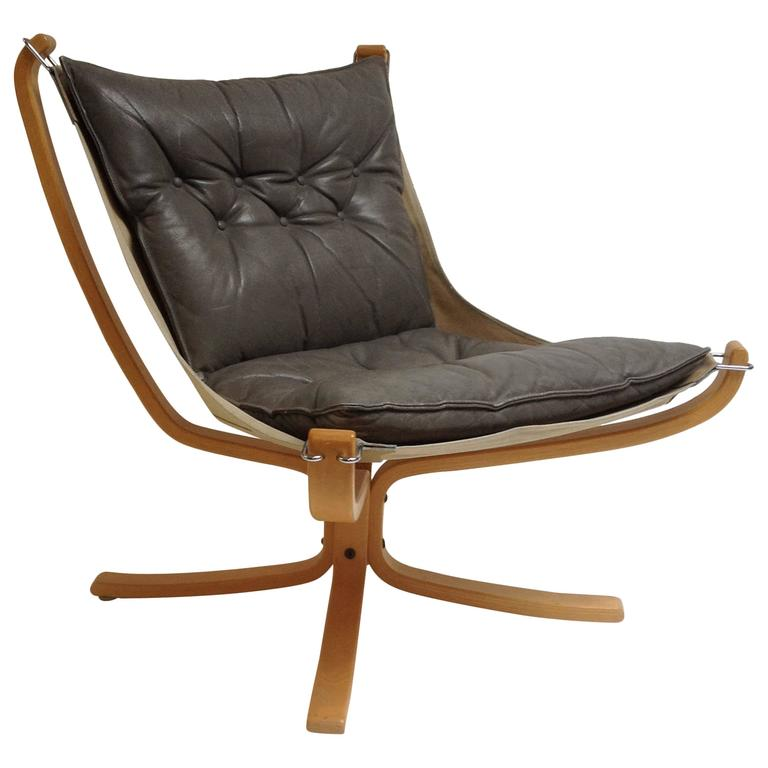 Sigurd Ressel Falcon Easy Chair For Vatne Mobler Norway