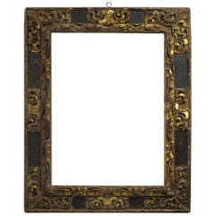Large Spanish Colonial Carved and Gilt Frame, 18th Century