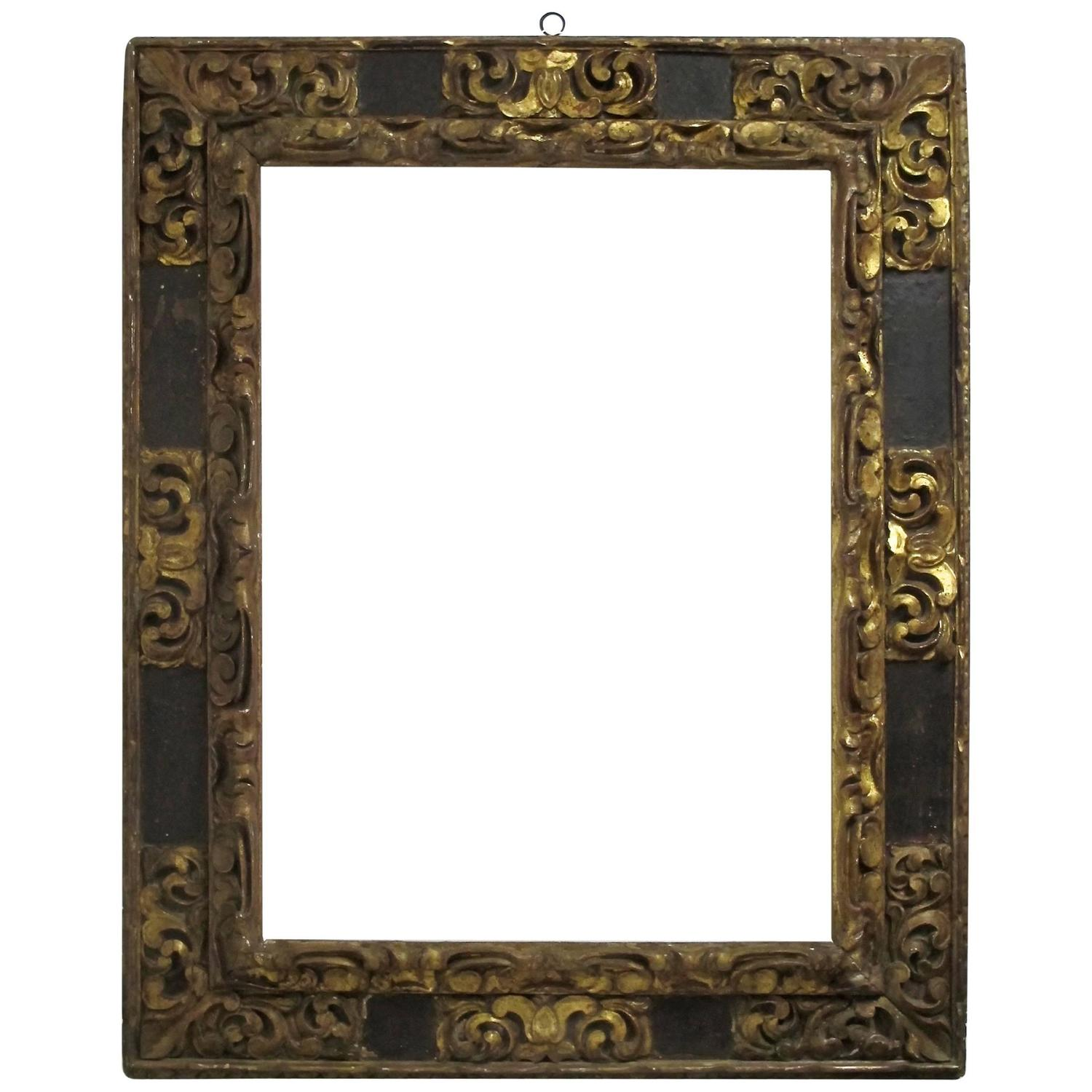 18th century spanish colonial frame for sale at 1stdibs. Black Bedroom Furniture Sets. Home Design Ideas