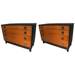 Pair of Renzo Rutili Mid-Century Modern Dressers