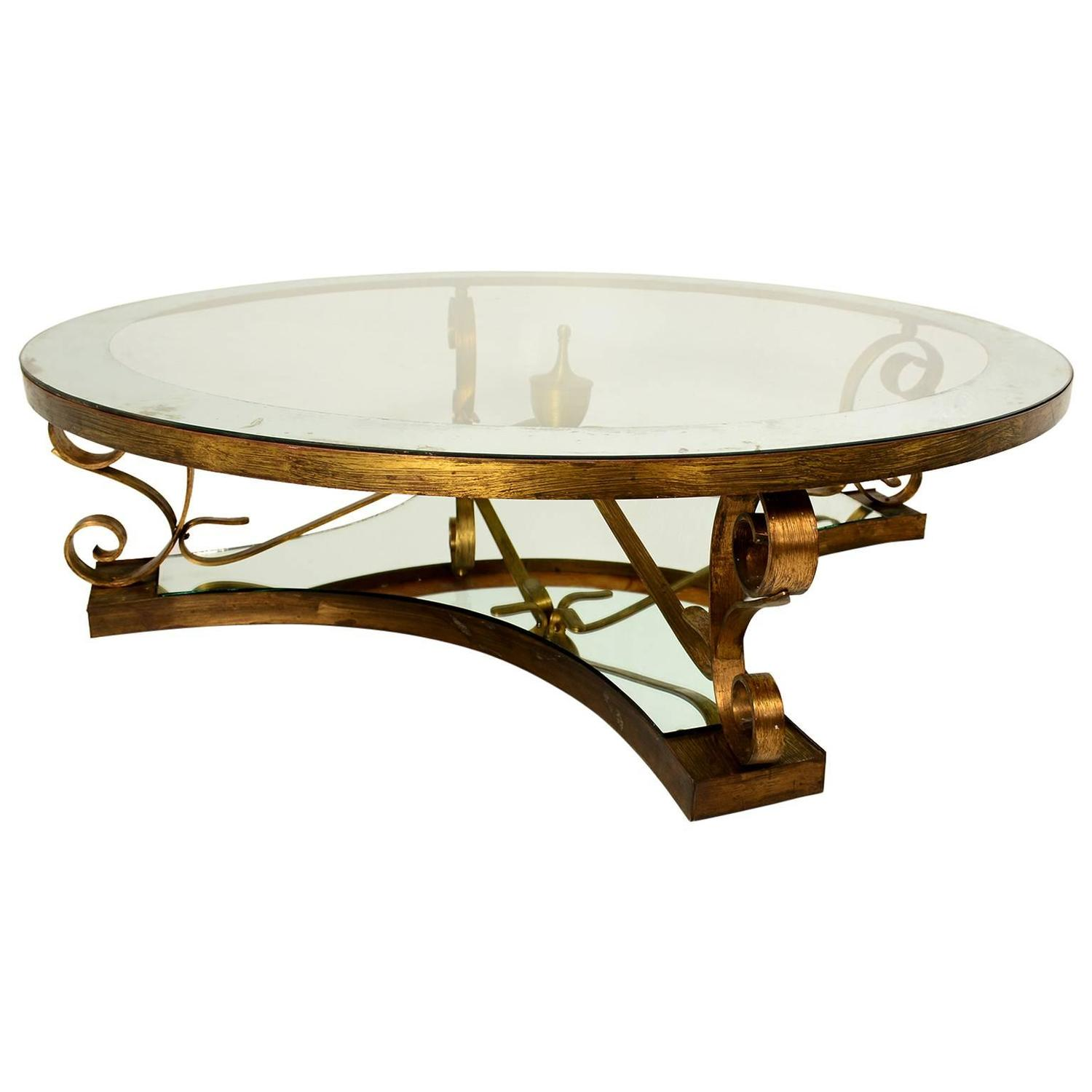 Arturo Pani Round Cocktail Table For Sale At 1stdibs