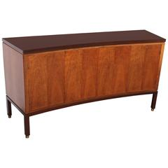 Curved Front Cabinet by Edward Wormley for Dunbar