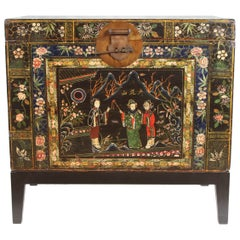 19th Century Chinese Painted Chest