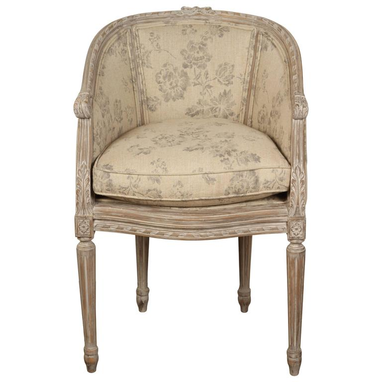 Late 19th Century French Boudoir Chair