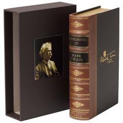 """""""Roughing It"""" by Mark Twain, First Edition in Leather, circa 1872"""