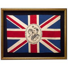 King George VI and Queen Mother Coronation Flag, circa 1936