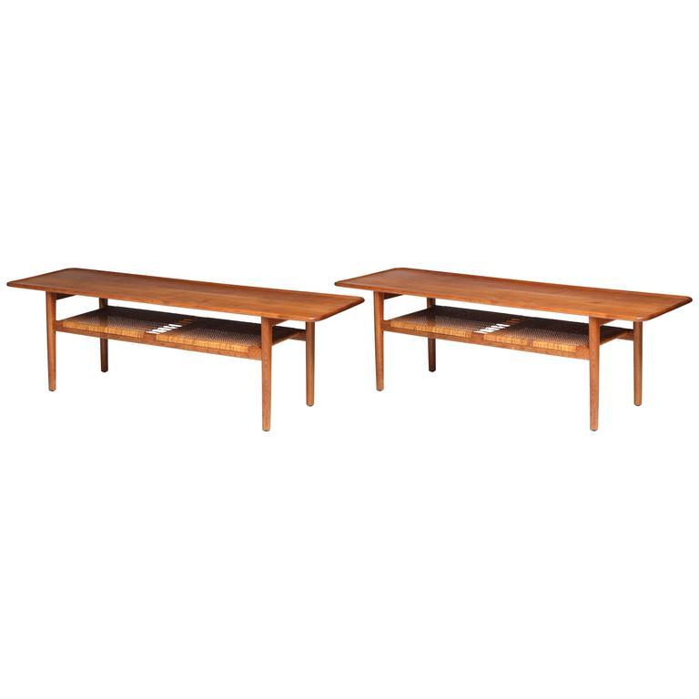 Low Tables by Hans J. Wegner