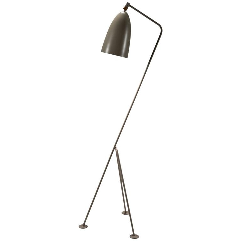 grasshopper floor lamp by greta magnusson grossman at 1stdibs. Black Bedroom Furniture Sets. Home Design Ideas
