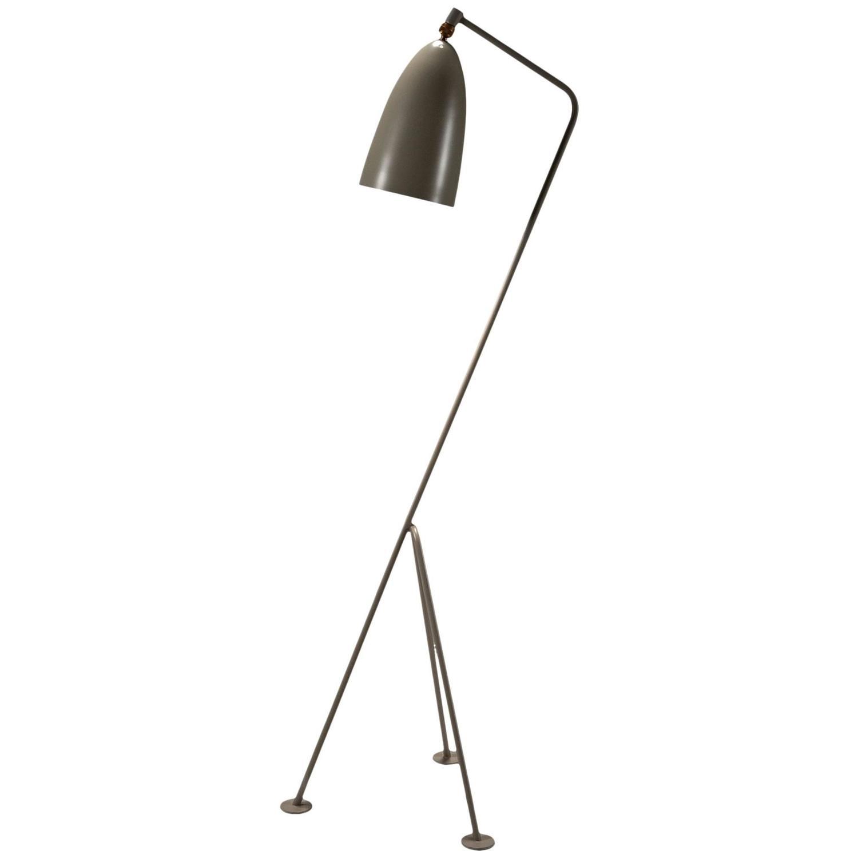 grasshopper floor lamp by greta magnusson grossman at 1stdibs. Black Bedroom Furniture Sets. Home Design Ideas