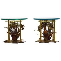 Pair of Silas Seandel Side Tables