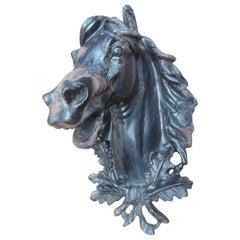Antique Cast Iron Horse Head