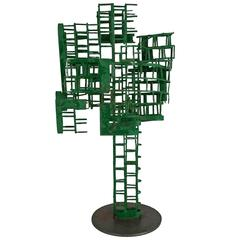 "Abstract Sculpture ""N.Y.C.Apartment"" by John Metzen"