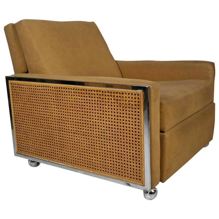 Modernist Three Position Reclining Chair By Milo Baughman