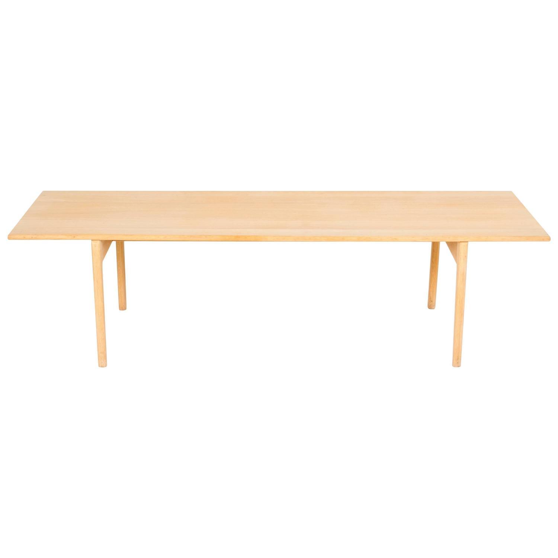 Hans J Wegner Oak Coffe Table Model AT 15 For Sale at 1stdibs
