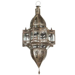 Moroccan Moorish Glass Star Shape Lantern