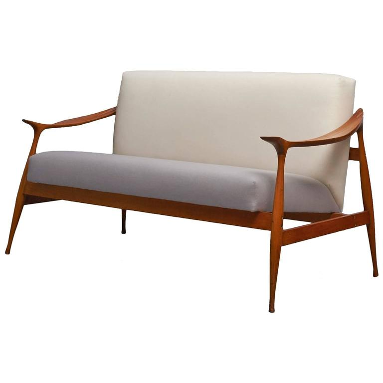 Ico parisi 39 lord 39 settee for sale at 1stdibs for Settees for sale