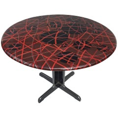 Customized Vintage 1970s Table by Mauro Oliveira