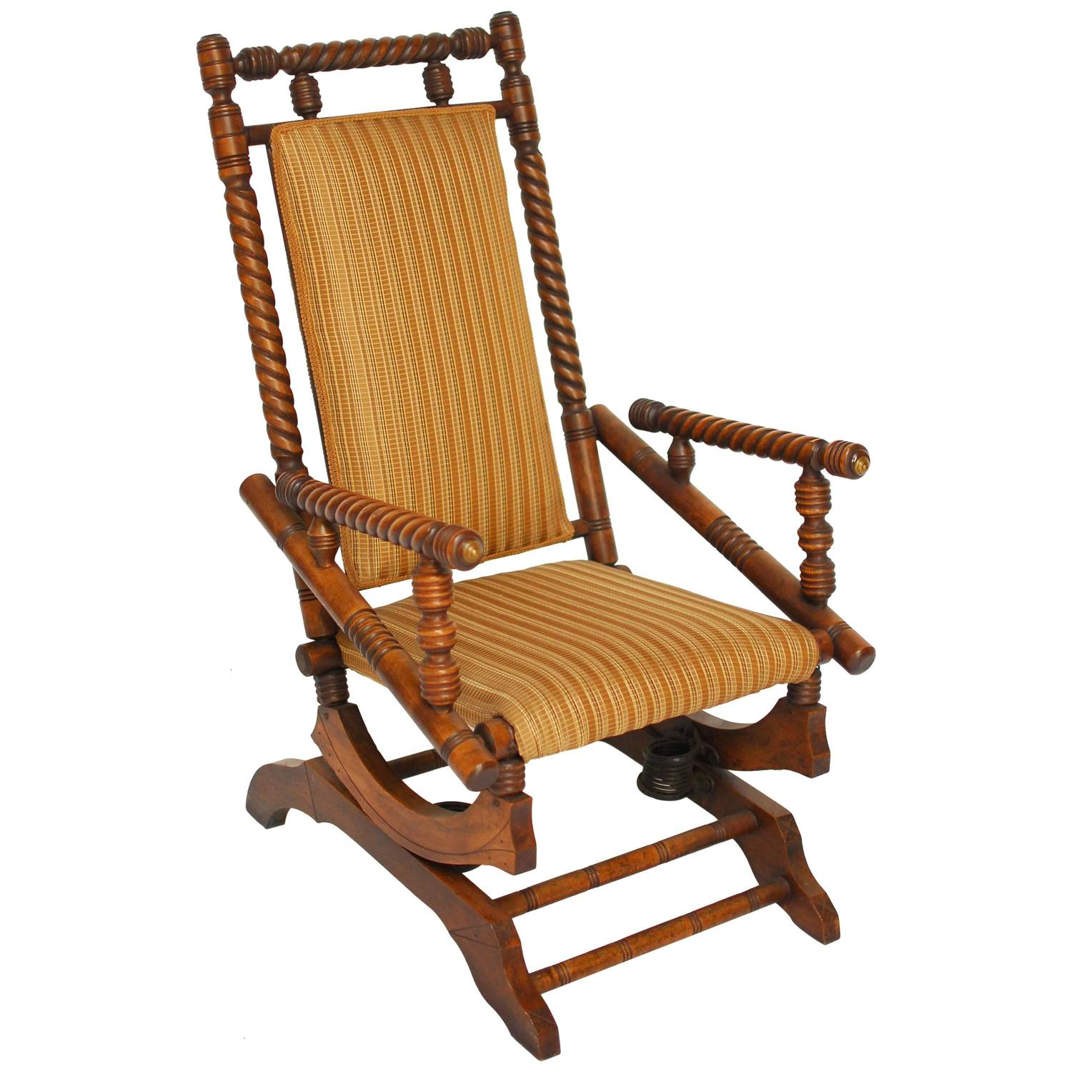 Hunzinger Style Platform Rocker For Sale At 1stdibs